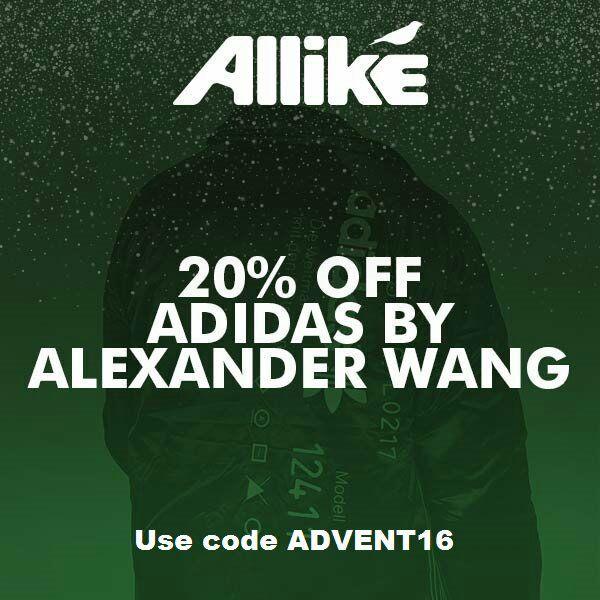 20% de réduction immédiate sur une sélection d'articles Adidas X Alexander Wang