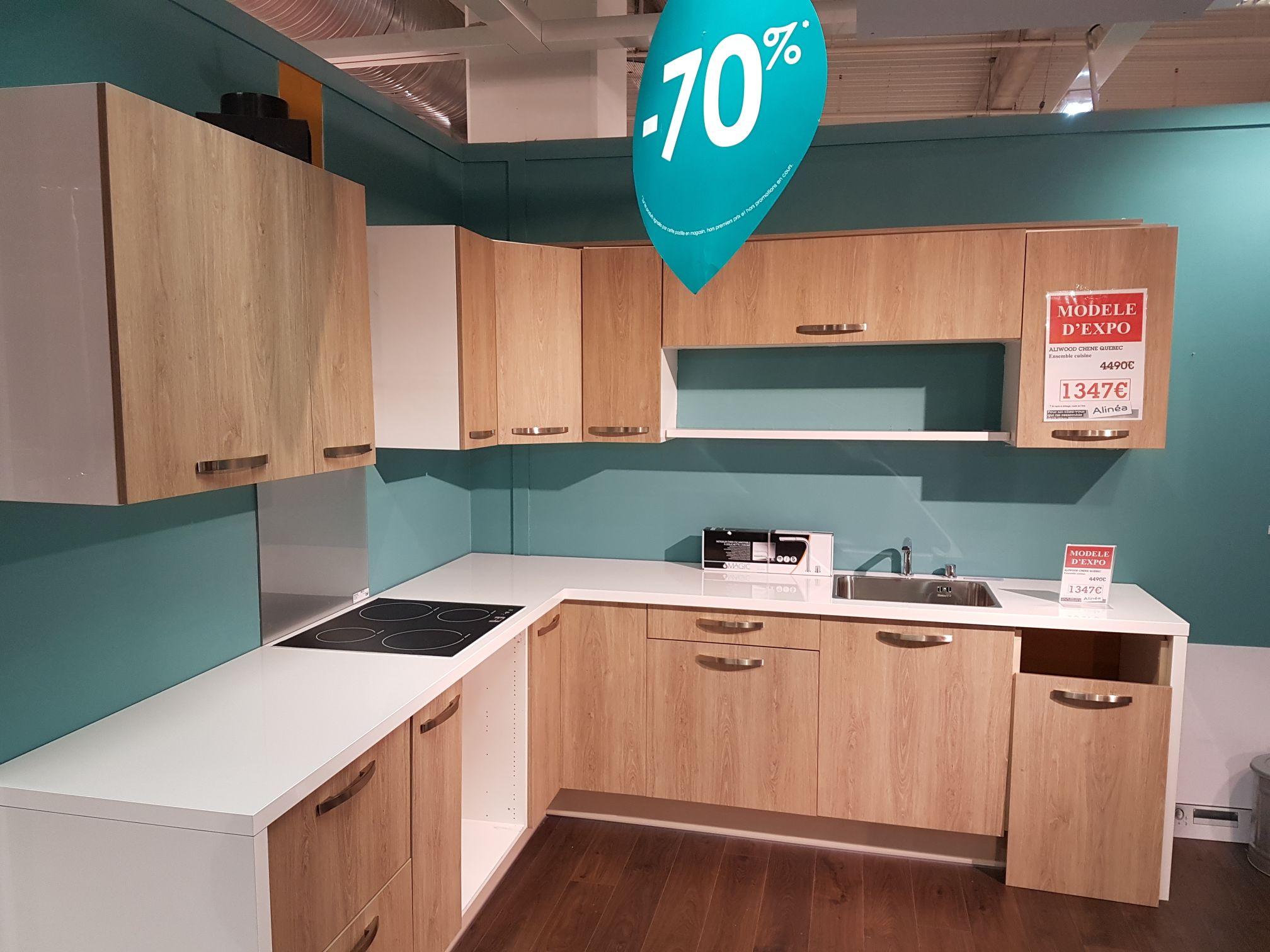 70% de réduction sur toutes les cuisines en exposition /  60% sur tous les dressings - Plaisir (78)