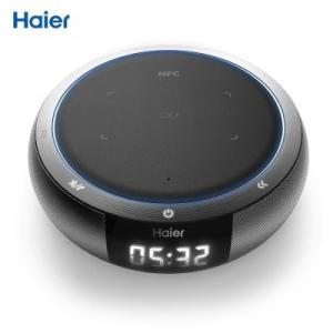 Chargeur sans fil Haier Qi avec haut-parleurs - Bluetooth 4.0 - 5W (Vendeur tiers)