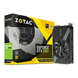 Carte graphique Zotac GeForce GTX 1060 - 6 Go