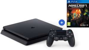 Console PS4 Slim 500Go + Minecraft