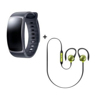 [Cdiscount à  volonté] Bracelet connecté Samsung Gear Fit 2 + Écouteurs Samsung Level Active (via ODR 30€)