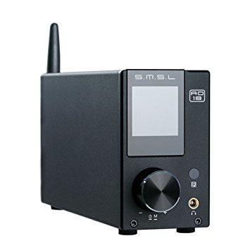 Amplificateur numérique SMSL AD18 - 80Wx2, Bluetooth