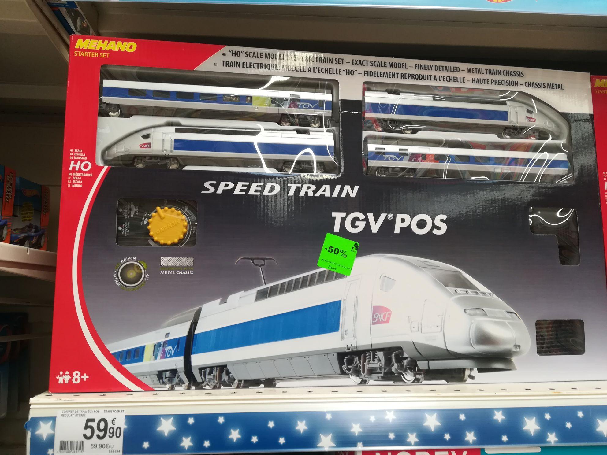 Jouet TGV électrique Mehano - Epagny (74)