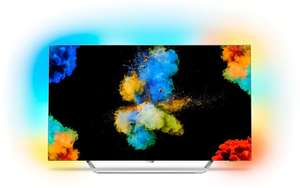 "TV 55"" Philips 55POS9002 - OLED, 4K, Ambilight 3 côtés (Frontaliers Suisse)"
