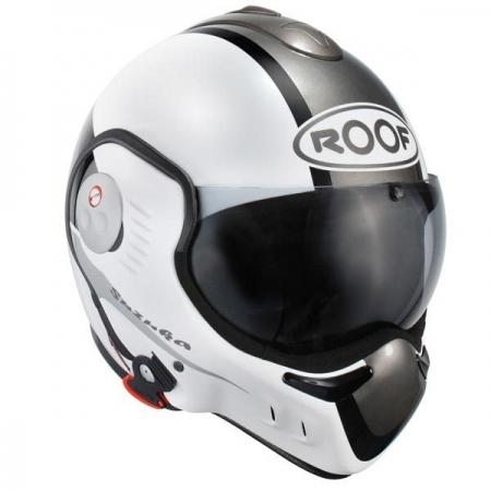Casque moto Roof Boxer V8 Suzuka Blanc