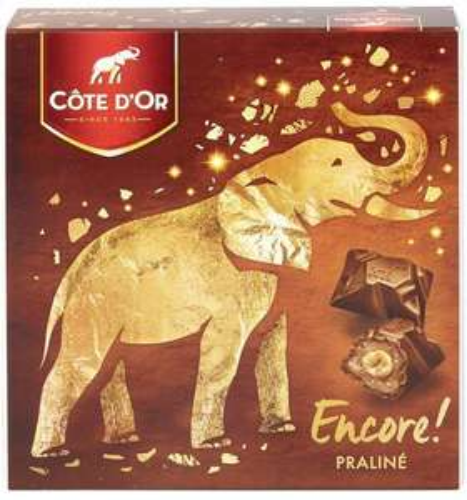 Boite de chocolats Côte D'or Praline Encore! 355g (via 5.56€ en bon d'achat)