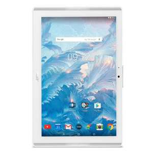 "[Cdiscount à volonté] Tablette 10.1"" Acer Iconia One 10 B3-A40 - HD IPS, Mediatek MT8167, 16Go, 2Go RAM, Android 7.0 (via ODR 50€)"