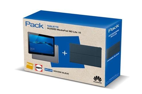 "Tablette Huawei Mediapad M3 Lite 10"" + housse (via ODR de 50€)"