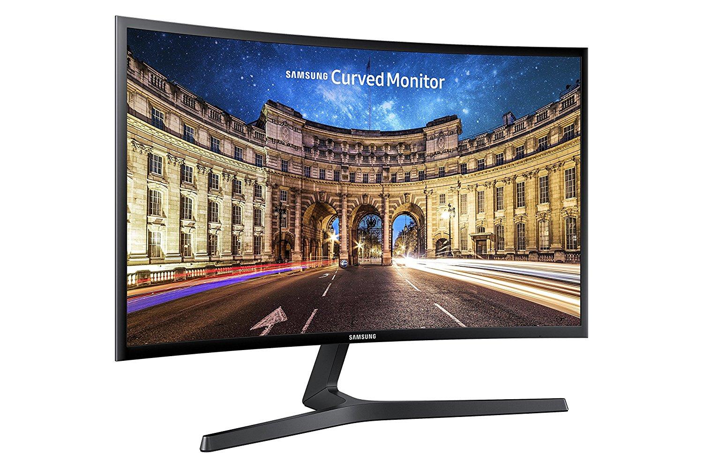 "Ecran PC 27"" incurvé Samsung C27F396FHU (Via ODR de 15%) - Full HD, Noir"
