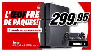 Console Sony PS4 500 en magasin