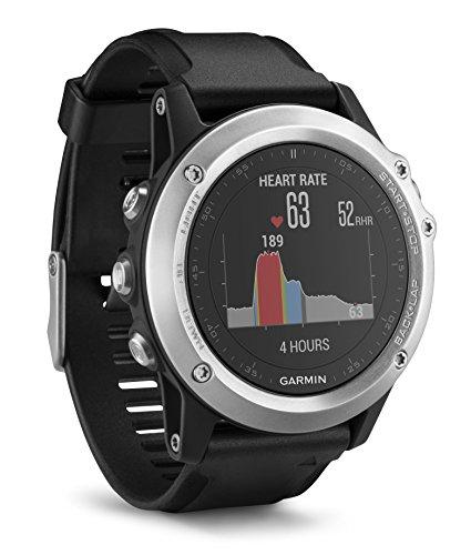 Montre GPS Garmin Fenix 3 HR - Silver