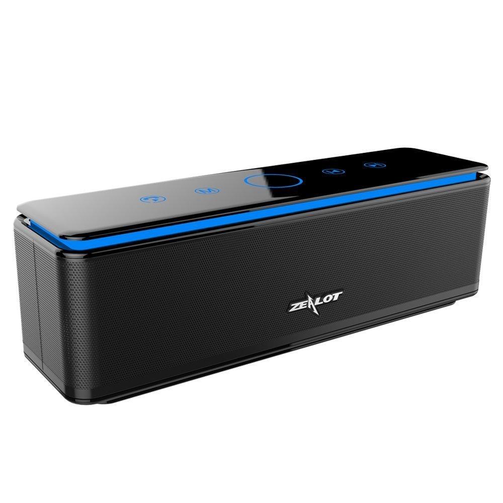 Enceinte Bluetooth Portable Zealot S7 26W avec Batterie Externe 10000 mAh (vendeur tiers)