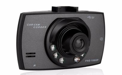 Dash cam avec vision nocturne enregistrement full hd Date tachygraphe - Noir