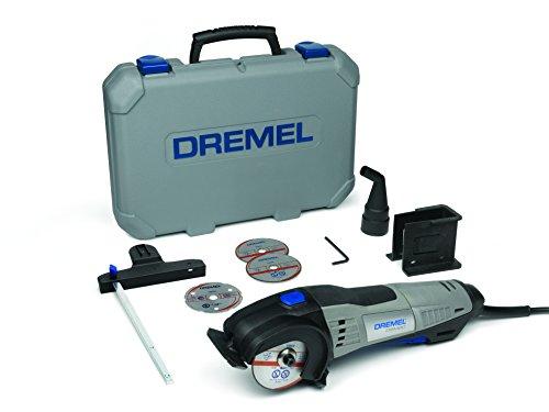 Mini scie-circulaire Dremel DSM20 (710 W) + lot d'accessoires