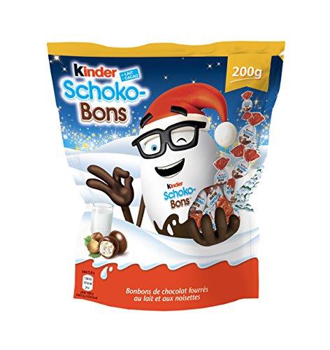 Lot de 6 sachet de chocolats Kinder Schoko-Bons - 200 g