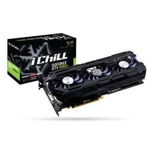 Carte graphique INNO3D iChiLL GeForce GTX 1080 Ti X3