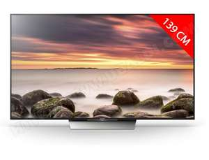 "TV 55"" Sony KD55XE8596BAEP - 4K, 100Hz, VA, HDR (Via ODR 100€)"