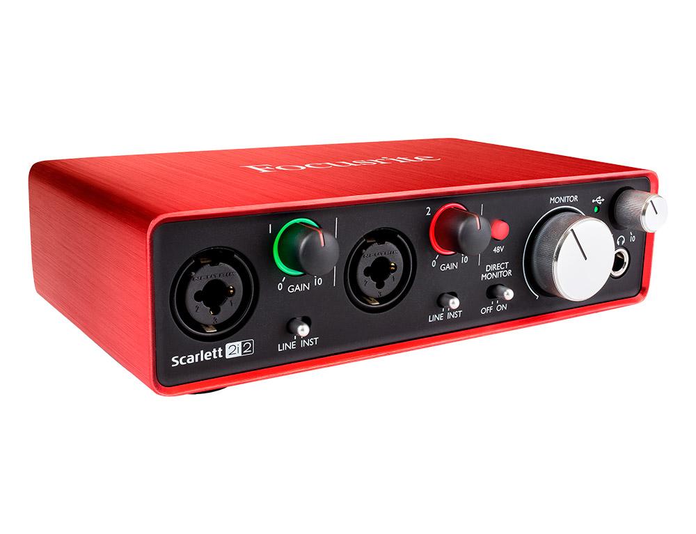 Interface audio USB Focusrite Scarlett 2i2 (2nd Gen)