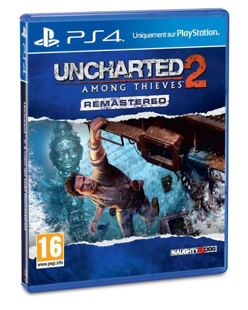 Sélection de jeux à 4,99€ (via l'application) - Ex : Uncharted 2 : Among Thieves sur PS4