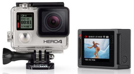 Camera embarqué GoPro Hero 4 Silver