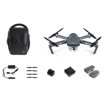 Drone quadricoptère RTF DJI Mavic Pro Fly More Combo - gris
