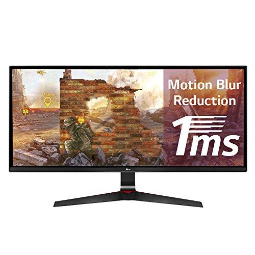 """LG 29UM69G-B 29"""" IPS Noir écran plat de PC - écrans plats de PC (73,7 cm (29""""), 2560 x 1080 pixels, LED, 5 ms, 250 cd/m², Noir)"""