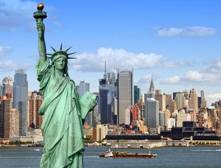 Aller retour Paris CDG - New York JFK en Octobre 2018