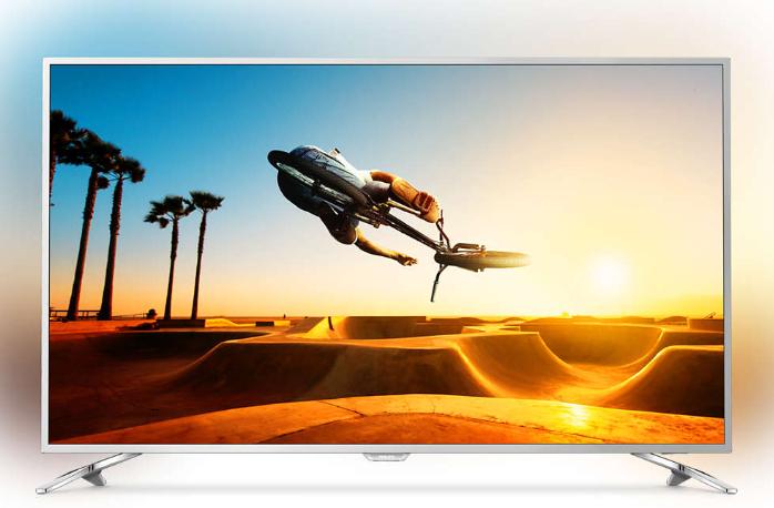 "TV IPS LED 55"" Philips 55PUS7272 avec Ambilight 3 Côtés - UHD 4K, 100Hz, HDR, 10bits, Smart TV (Via ODR 100€)"