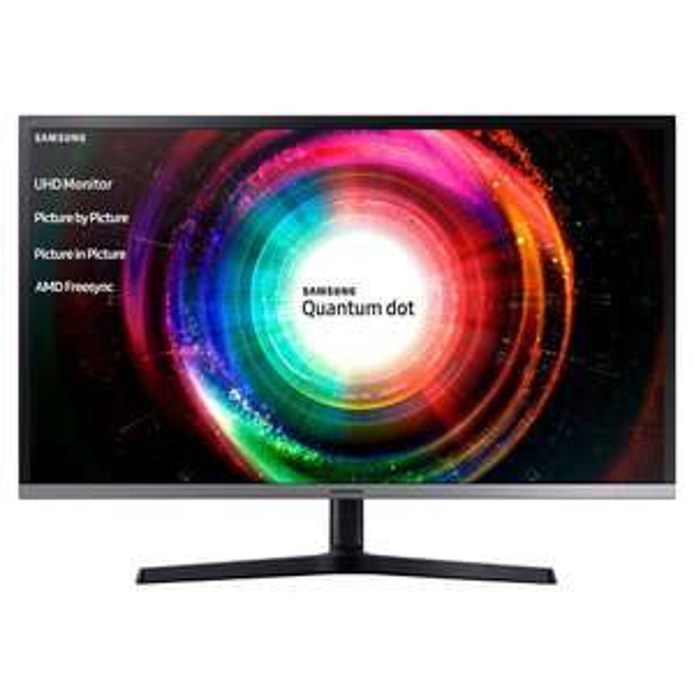 "Écran PC Samsung U32H850 32"" 4K Ultra HD VA Noir, Argent"