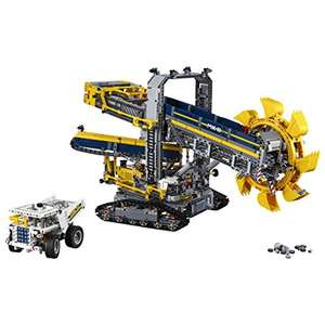 Jeu de construction Lego technic : La pelleteuse à godets n°42055 + Lego Batman The movie n°70902