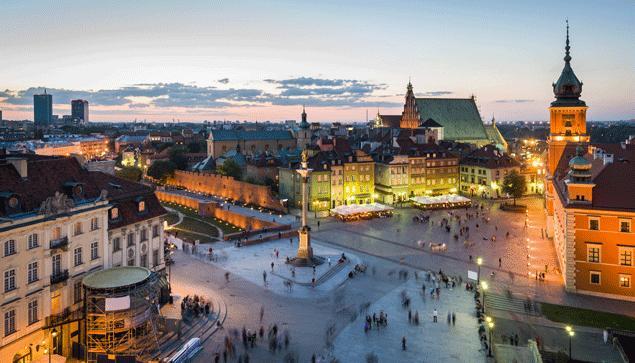 Sélection de Vols A/R en Promotions - Ex: Toulouse <-> Pologne du 04 Février au 26 Février 2018