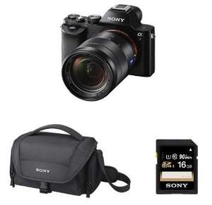 Kit Appareil Photo Hybride Sony A7 + 28-70 MM F/3.5-5.6 + housse + Carte SD 16 Go (via ODR 100€)