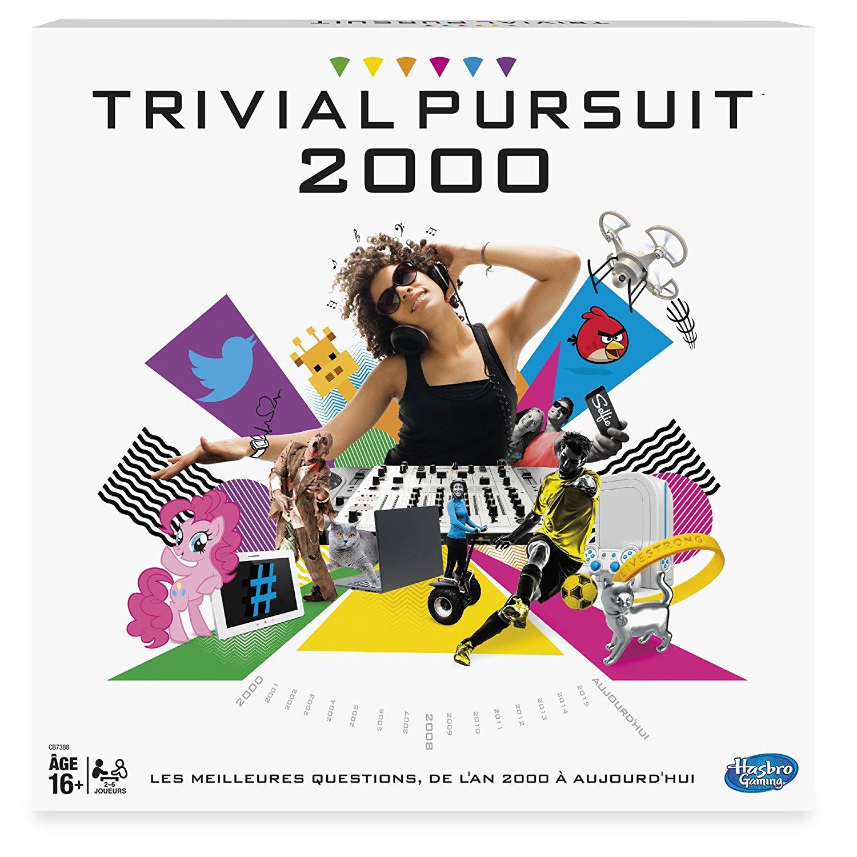 Jeu de société Trivial Pursuit années 2000 Hasbro