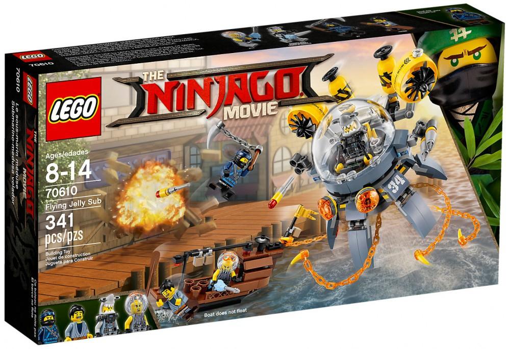 Jouet Lego NinjaGo Movie 70610 - Le sous-marin Méduse