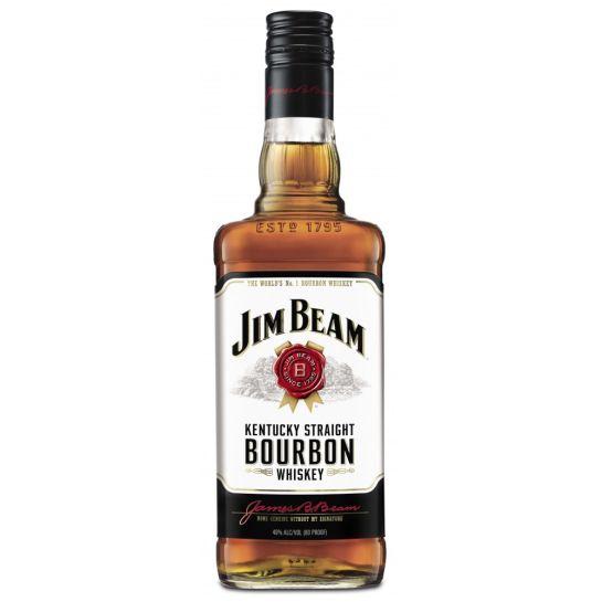1 Bouteille de bourbon Jim beam 1L (via 10.97€ sur la carte)
