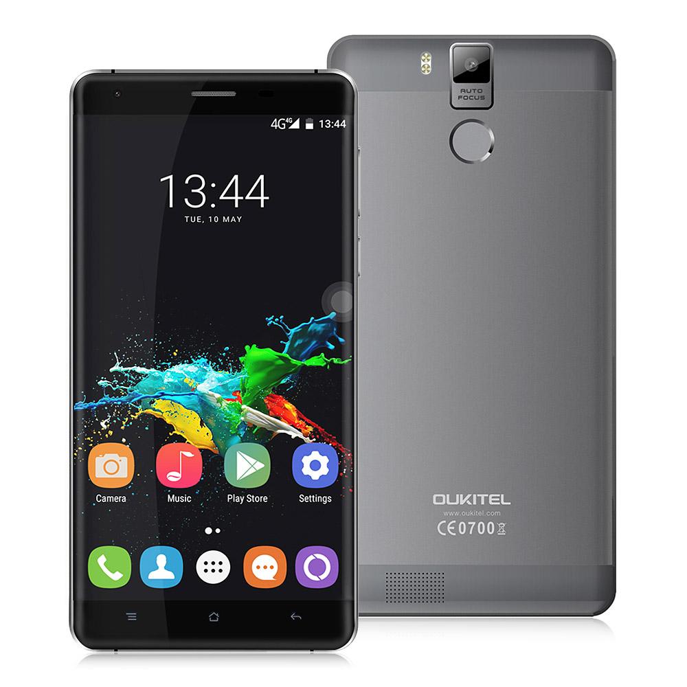 "Smartphone 5.5"" Oukitel K6000 Pro Dual SIM Gris - Full HD, Octa-core MT6753P, RAM 3Go, 32Go, Android 6.0 (Vendeur Tiers)"