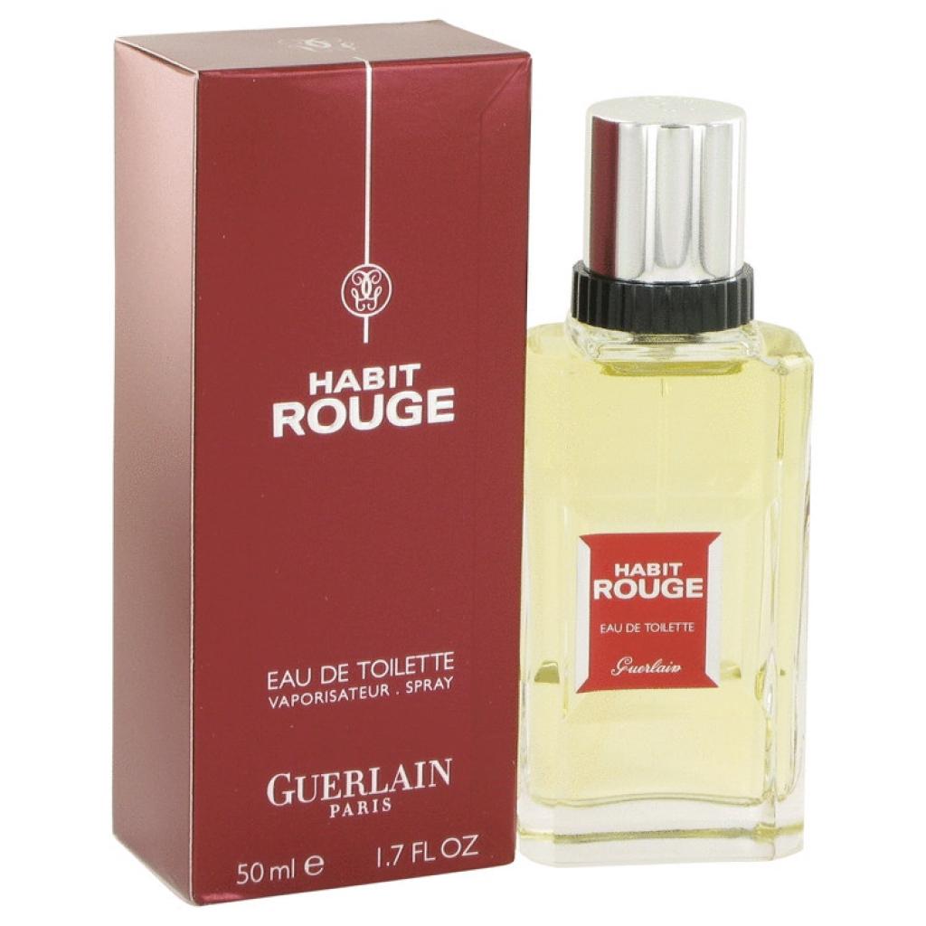 Eau De Toilette Guerlain Habit Rouge en Spray pour Hommes - 50ml