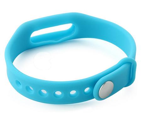 Bracelet pour Xiaomi Mi Band bleu ou rouge