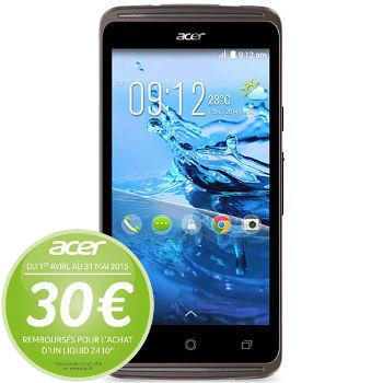 "Smartphone 4.5"" Acer Liquid Z410 + Liquid Leap (ODR 30€)"