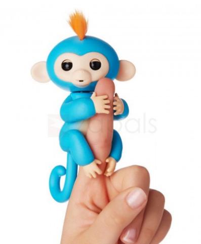 Jouet interactif familier en forme de singe (cloris au choix)