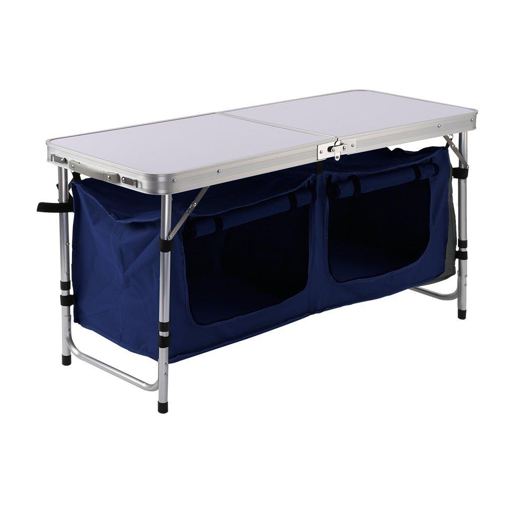 Table Pliante Finether + Sac de Rangement - 120x47x68cm (vendeur tiers)