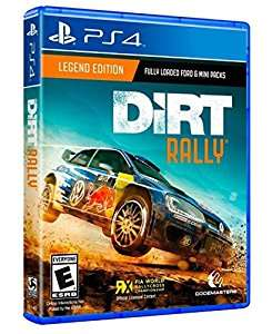 Dirt Rally Legend Edition sur PS4