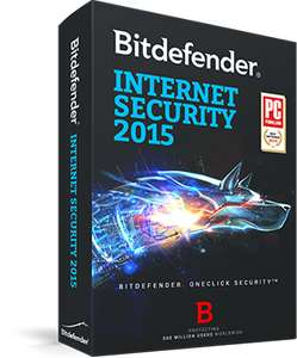 Licence BitDefender Internet Security 2015 gratuite pendant 9 mois