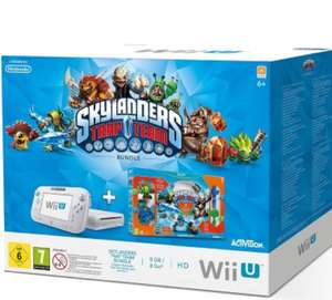 Console Nintendo Wii U Basic 8 Go + Pack de démarrage Skylanders Trap Team (via l'application)