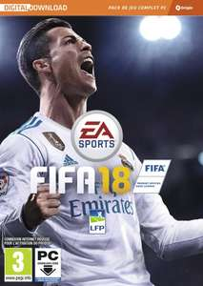FIFA 18 Standard édition sur PC (Dématérialisé - Origin)
