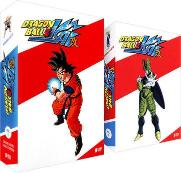 Pack 2 coffrets 17 DVD Intégrale Dragon Ball Z Kai