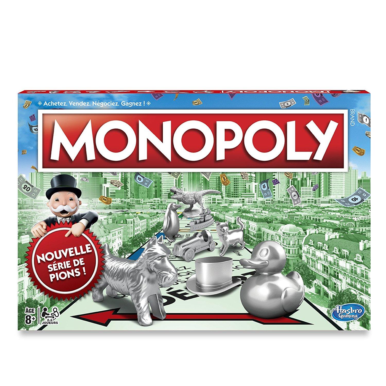 Sélection de Jeux et de Jouets en Promotion - Ex: Jeu de Société Monopoly Classique (Version 2017)