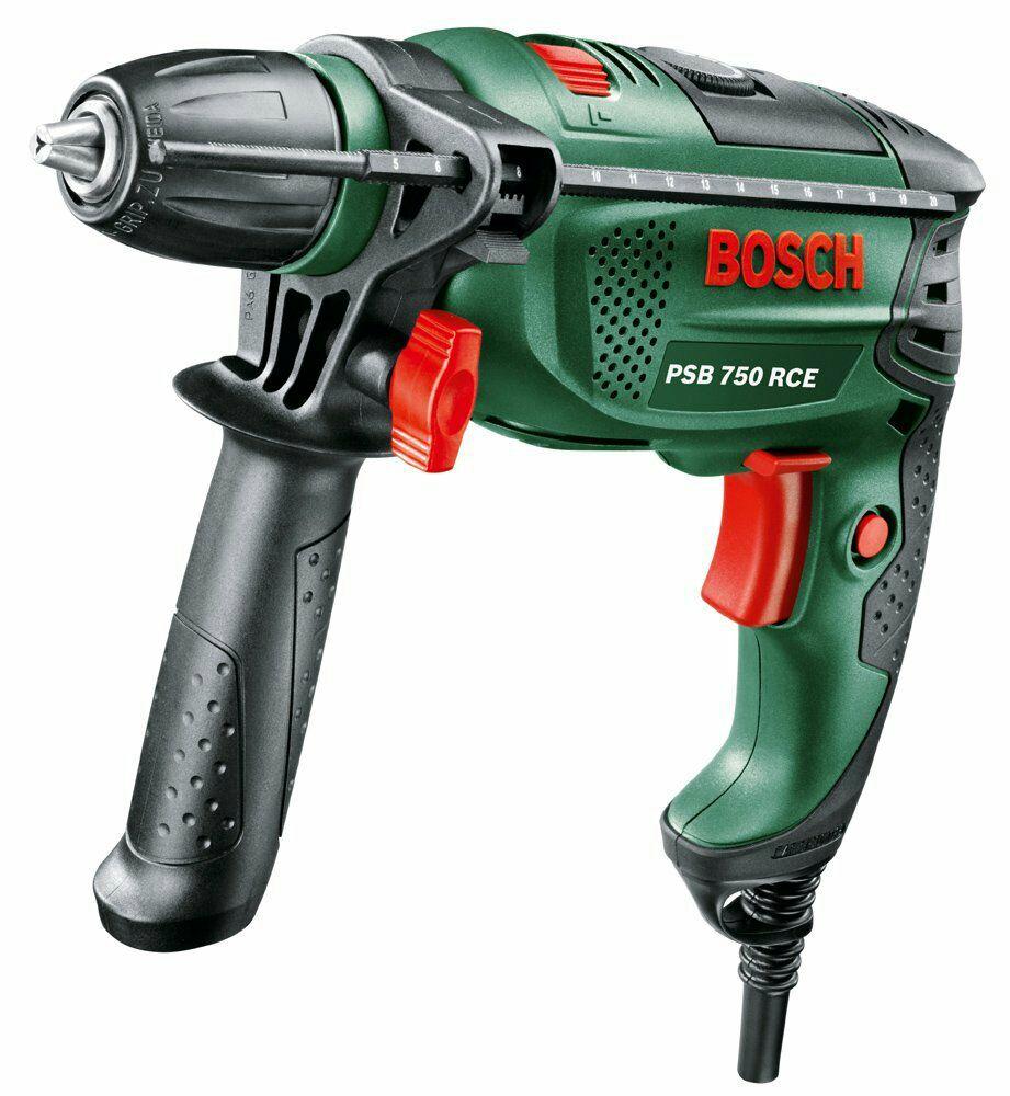 Perceuse  à Percussion Bosch Universal PSB 750 RCE avec Régulation Electronique + Coffret