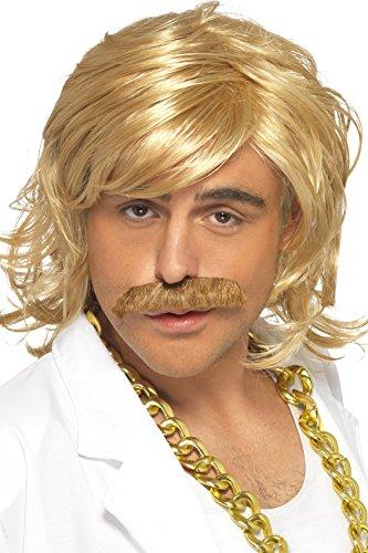 Déguisement Homme, Perruque et moustache blond